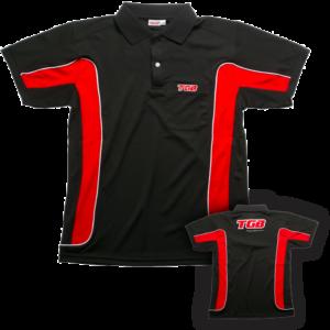 Polo rouge et noir TGB