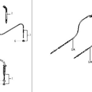 CABLES FREIN AVANT / CABLES ACCÉLÉRATEUR