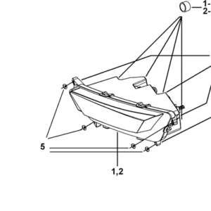 ECLAIRAGE AVANT (MODELE AVEC FACE AVANT A LED)