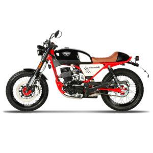 MOTO BLACK CAFE 125